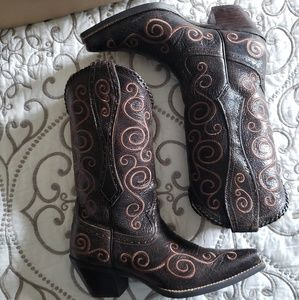 ARIAT shelleen cowgirl boots size 8.5M
